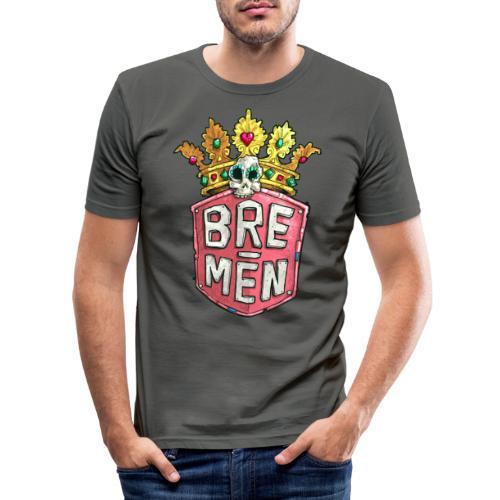 Bre-Men Abenteuer - Männer Slim Fit T-Shirt