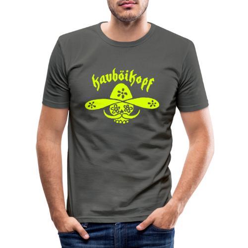 Kauboikopf - Männer Slim Fit T-Shirt