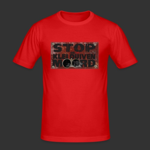 kleiduivenmoord - slim fit T-shirt