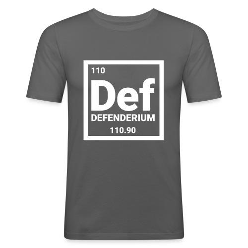 DEFENDERIUM - Mannen slim fit T-shirt