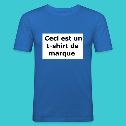 t-shirt2 - T-shirt près du corps Homme