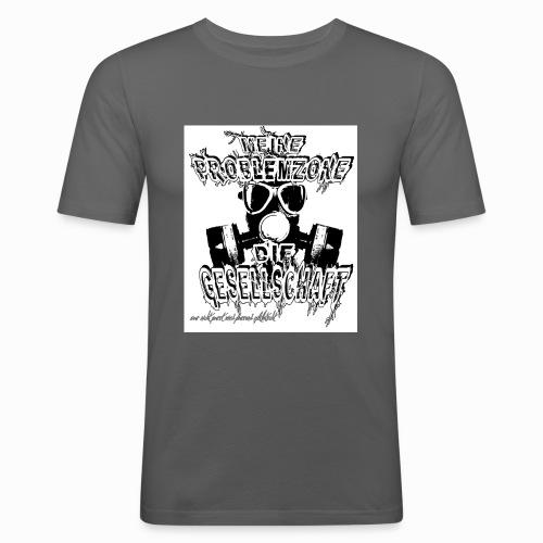 Meine Problemzone png - Männer Slim Fit T-Shirt