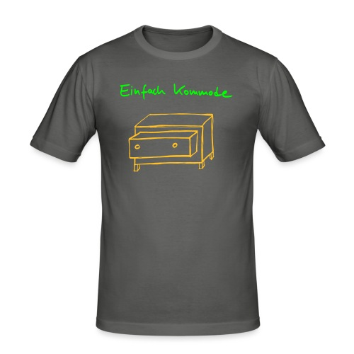 Einfach Kommode - Männer Slim Fit T-Shirt
