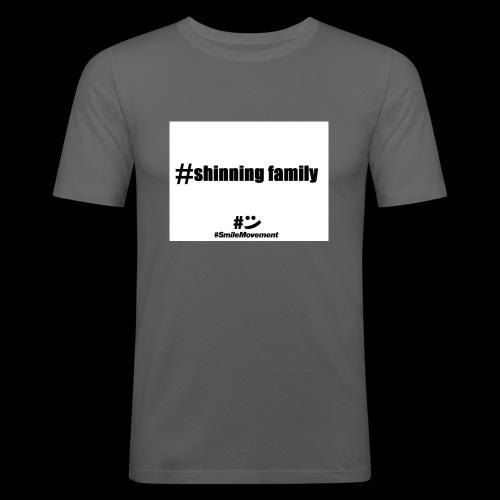 shinning family - T-shirt près du corps Homme