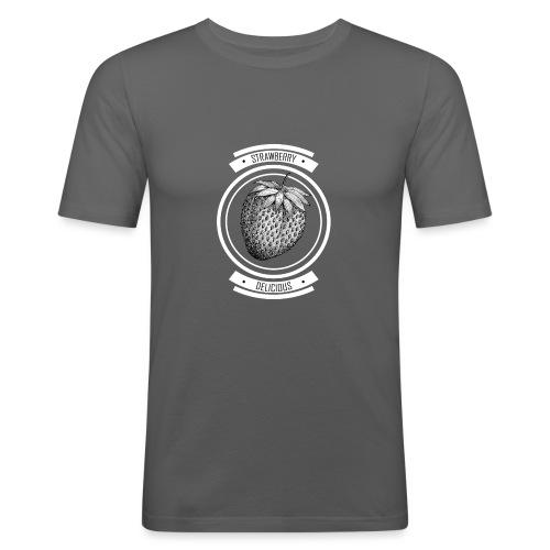 Strawberries - Men's Slim Fit T-Shirt