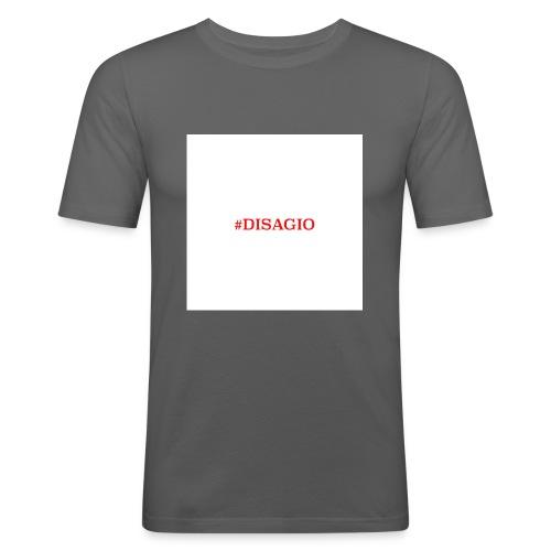 COLLEZIONE UNISEX #DISAGIO - Maglietta aderente da uomo