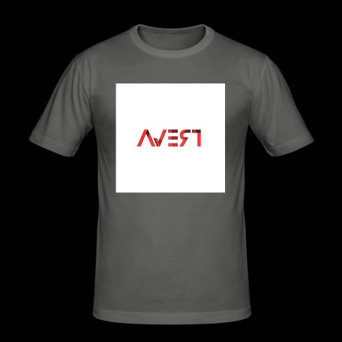 AVERT YOUR EYES - Mannen slim fit T-shirt