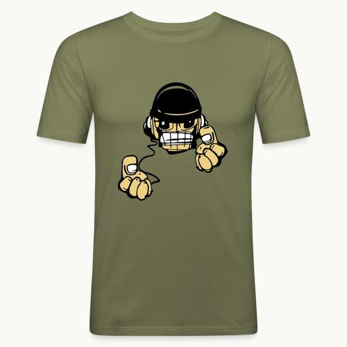 Micky DJ - T-shirt près du corps Homme