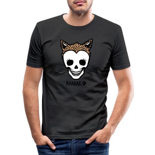 Wild-Katzen-Liebe - Männer Slim Fit T-Shirt