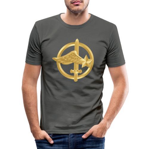 Tasse Fusiliers Commandos de l'Air - T-shirt près du corps Homme