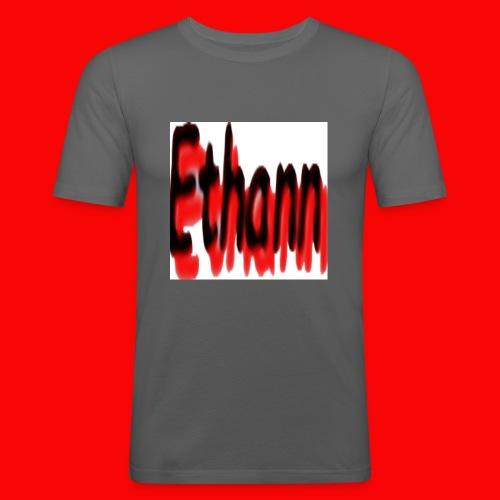 Ethann - Men's Slim Fit T-Shirt