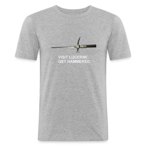 Lucerne Hammer 2 - Men's Slim Fit T-Shirt