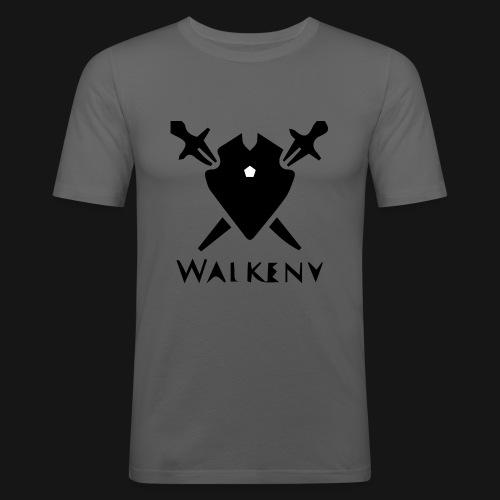 Walkeny Schwert Logo! - Männer Slim Fit T-Shirt