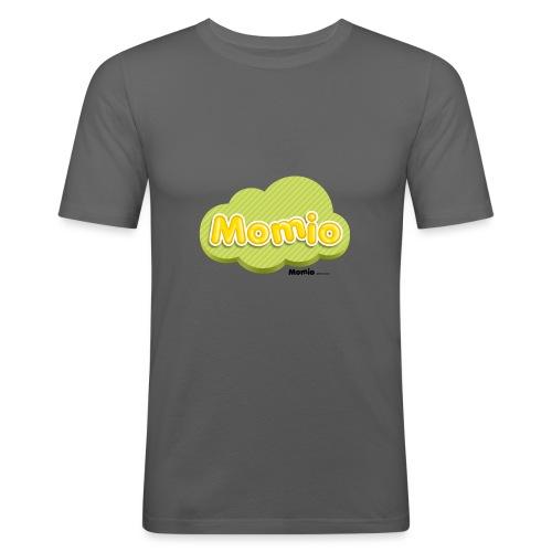 Logo van Momio - Mannen slim fit T-shirt
