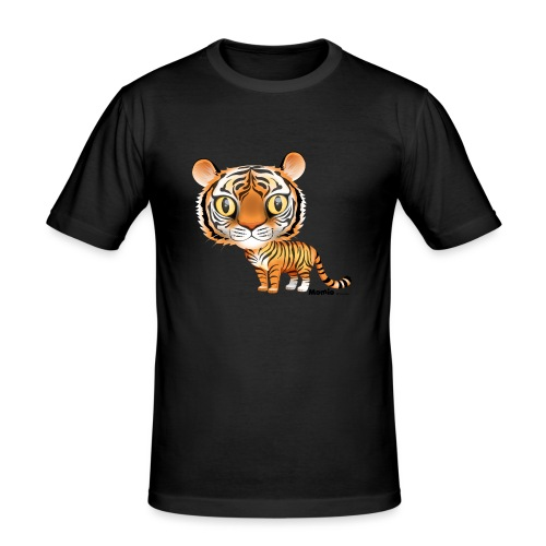 Tijger - Mannen slim fit T-shirt