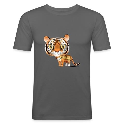Tiikeri - Miesten tyköistuva t-paita