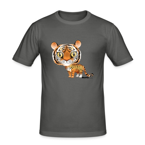 Tijger - Mannen slim fit T-shirt