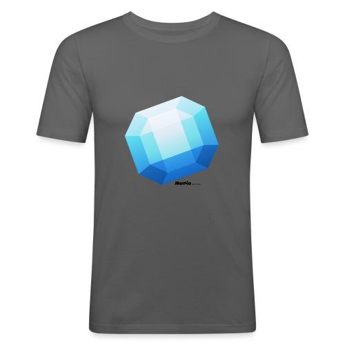 Saffier - Mannen slim fit T-shirt
