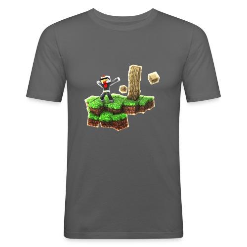 HenkDeKip Eiland - Mannen slim fit T-shirt