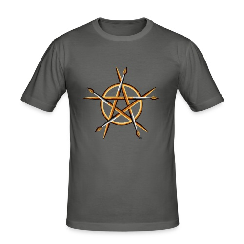 PAGAN PAINTER - Men's Slim Fit T-Shirt