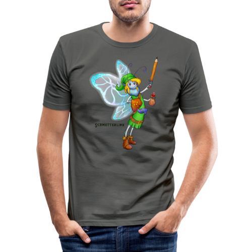 Schmetterlink - Männer Slim Fit T-Shirt