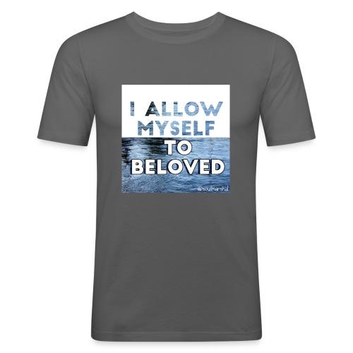 I Allow Myself To Beloved - Miesten tyköistuva t-paita