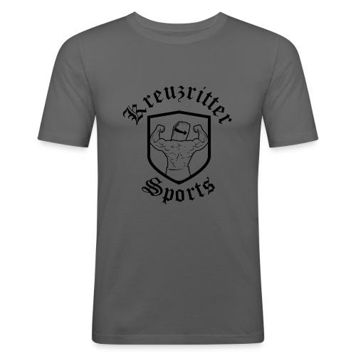 Kreuzritter Sports - Männer Slim Fit T-Shirt