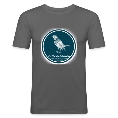 amcle music logo 2021 - Männer Slim Fit T-Shirt