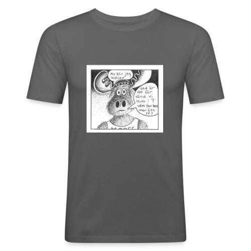 4918B3A7 4A3B 4645 9D25 BC140F4AD588 - Slim Fit T-shirt herr