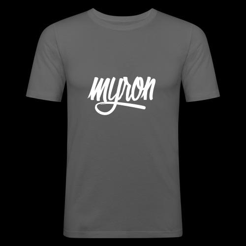 Myron - Mannen slim fit T-shirt