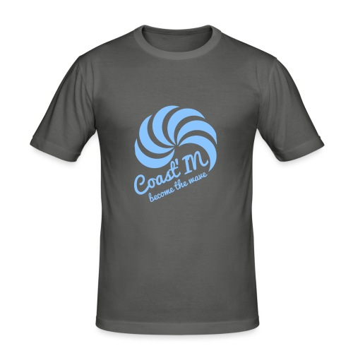 coast b strap png - Men's Slim Fit T-Shirt