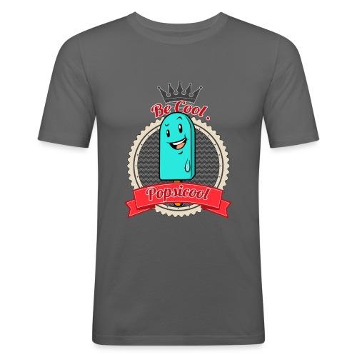 Popsicool - Maglietta aderente da uomo