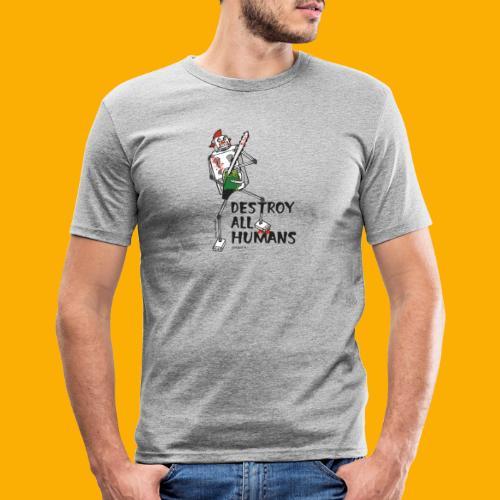 Dat Robot: Destroy Series Killer Clown Light - slim fit T-shirt