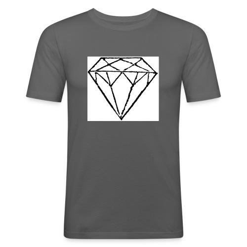 Diamond - Slim Fit T-shirt herr