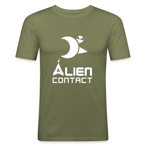 Alien Contact - Maglietta aderente da uomo