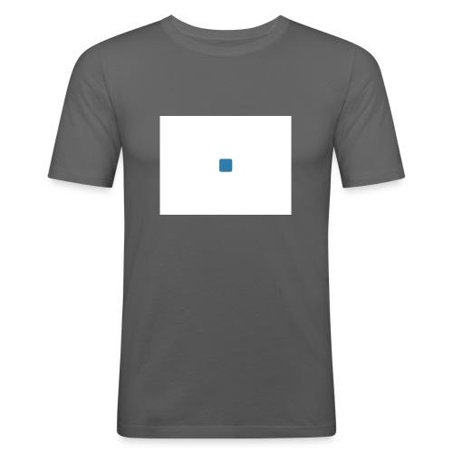 test - Mannen slim fit T-shirt