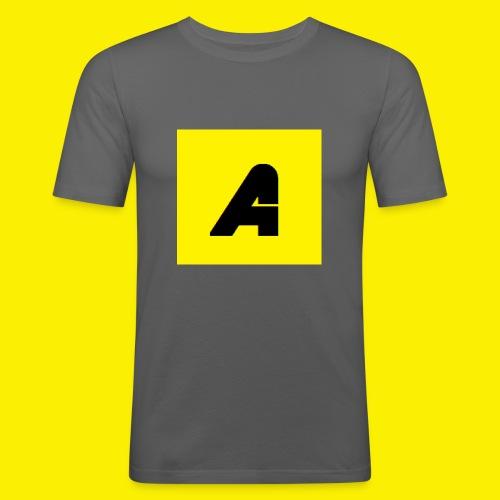T-shirt Baby - Mannen slim fit T-shirt