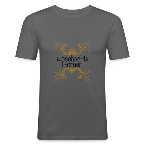 woschechta horner sw - Männer Slim Fit T-Shirt