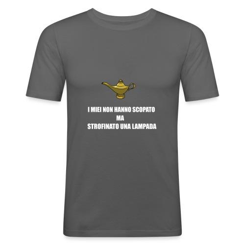 LAMPmarra - Maglietta aderente da uomo