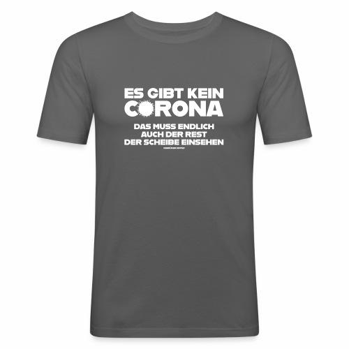 Kein Corona - Männer Slim Fit T-Shirt