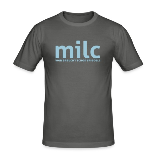 milc - Männer Slim Fit T-Shirt