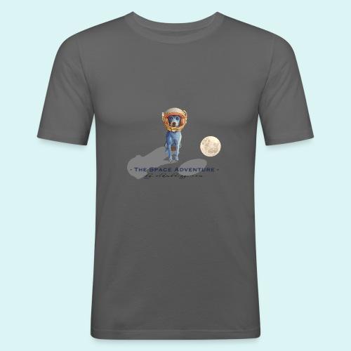 The Space Adventure - Men's Slim Fit T-Shirt