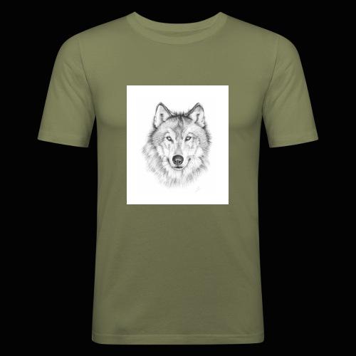 Wolf - Herre Slim Fit T-Shirt