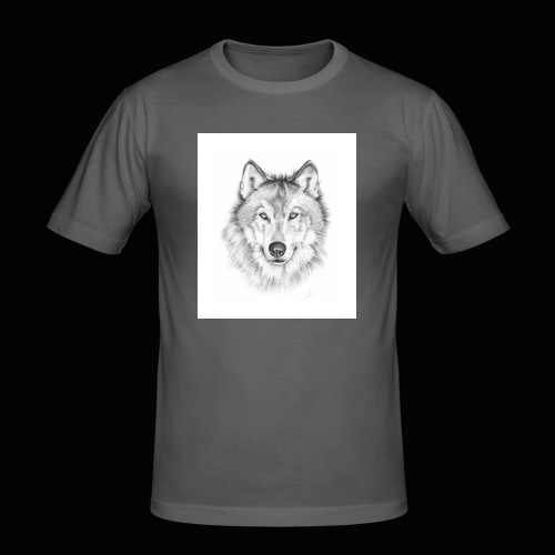 Wolf - Herre Slim Fit T-Shirt