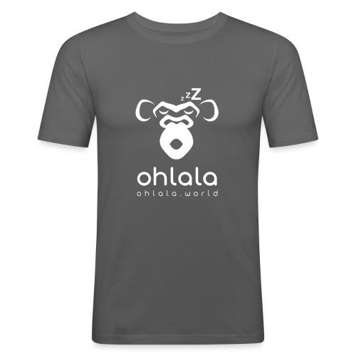 Ohlala Sleep WHITE - T-shirt près du corps Homme