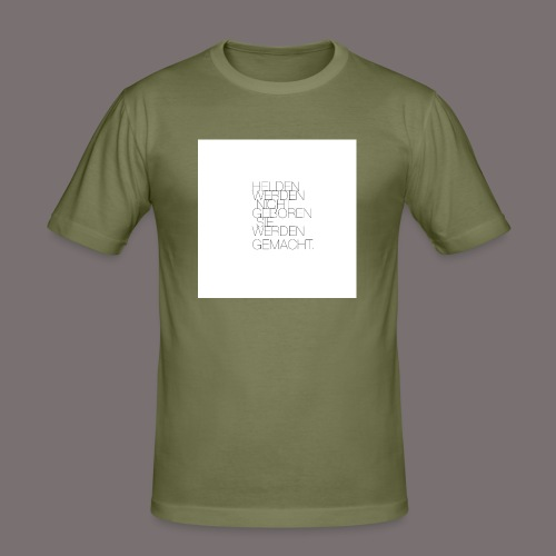 Helden - Männer Slim Fit T-Shirt