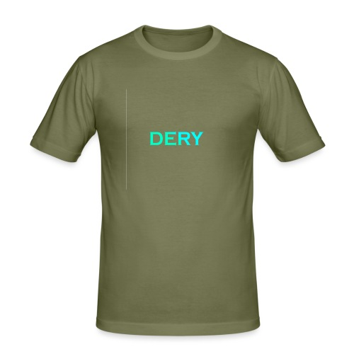 DERY - Männer Slim Fit T-Shirt