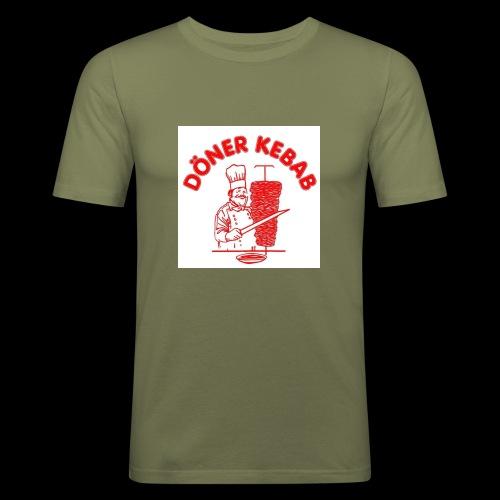Doner Kebab - Men's Slim Fit T-Shirt