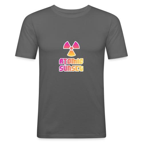 ATOMIC SUNSET - T-shirt près du corps Homme