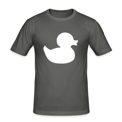 First duck tee - Men's Slim Fit T-Shirt